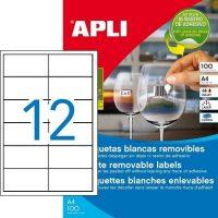 APLI 03057 öntapadós etikett címke