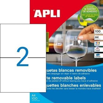 APLI 03059 öntapadós etikett címke
