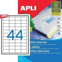 APLI 03129 öntapadós etikett címke