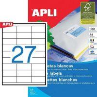 APLI 03133 öntapadós etikett címke