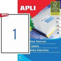 APLI 03141 öntapadós etikett címke