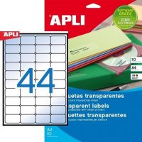 APLI 10050 öntapadós etikett címke
