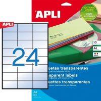 APLI 10051 öntapadós etikett címke