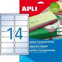 APLI 10052 öntapadós etikett címke