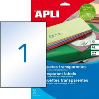 APLI 10053 öntapadós etikett címke