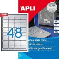 APLI 10066 öntapadós etikett címke