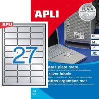 APLI 10070 öntapadós etikett címke