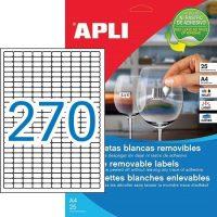 APLI 10197 öntapadós etikett címke