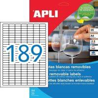 APLI 10198 öntapadós etikett címke