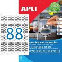 APLI 10314 öntapadós etikett címke