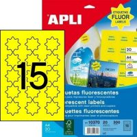 APLI 10370 öntapadós etikett címke