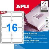 APLI 10561 öntapadós etikett címke