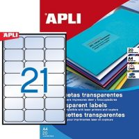 APLI 10968 öntapadós etikett címke