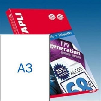 APLI 11352 öntapadós etikett címke