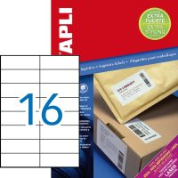 APLI 11783 öntapadós etikett címke