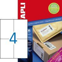 APLI 11785 öntapadós etikett címke