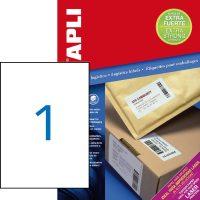 APLI 11787 öntapadós etikett címke