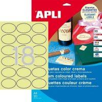 APLI 11799 öntapadós etikett címke