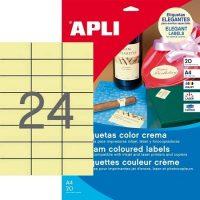 APLI 11800 öntapadós etikett címke