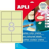 APLI 11801 öntapadós etikett címke