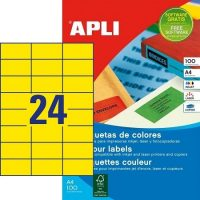APLI 11834 öntapadós etikett címke