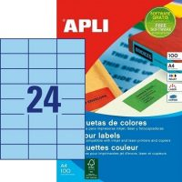 APLI 11835 öntapadós etikett címke