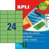 APLI 11837 öntapadós etikett címke