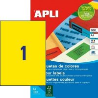 APLI 11838 öntapadós etikett címke