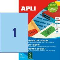 APLI 11839 öntapadós etikett címke