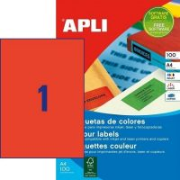 APLI 11840 öntapadós etikett címke