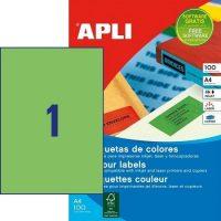 APLI 11841 öntapadós etikett címke