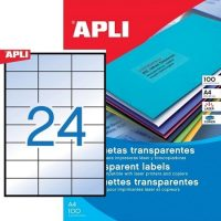 APLI 11918 öntapadós etikett címke