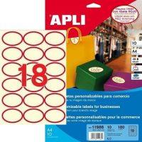 APLI 11986 öntapadós etikett címke