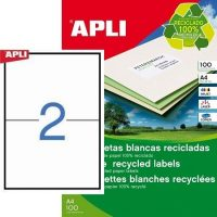APLI 12069 öntapadós etikett címke