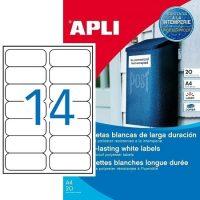 APLI 12113 öntapadós etikett címke