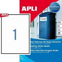 APLI 12121 öntapadós etikett címke