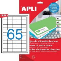 APLI 12926 öntapadós etikett címke