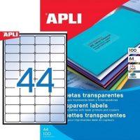APLI 12962 öntapadós etikett címke
