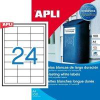 APLI 12966 öntapadós etikett címke