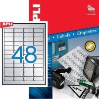 APLI 12973 öntapadós etikett címke