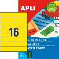 APLI 12976 öntapadós etikett címke