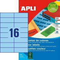 APLI 12977 öntapadós etikett címke