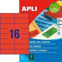 APLI 12978 öntapadós etikett címke