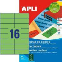 APLI 12979 öntapadós etikett címke
