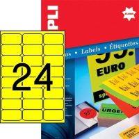 APLI 12981 öntapadós etikett címke