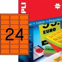 APLI 12982 öntapadós etikett címke