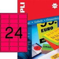 APLI 12983 öntapadós etikett címke