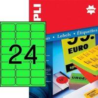APLI 12984 öntapadós etikett címke