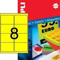 APLI 12985 öntapadós etikett címke