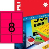 APLI 12987 öntapadós etikett címke